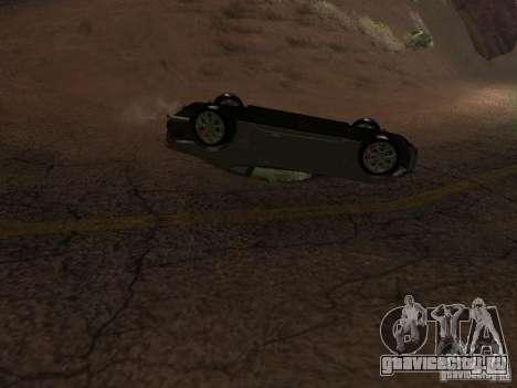 Перевернутые автомобили не горят для GTA San Andreas пятый скриншот