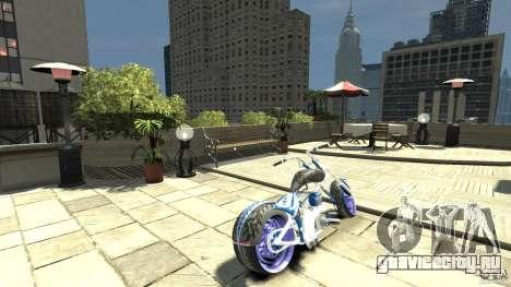 The Chopper для GTA 4 вид сзади слева
