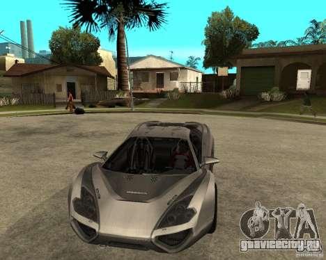 Nemixis для GTA San Andreas вид сзади