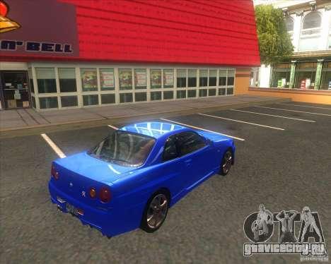 ENB от ALKANAVT для GTA San Andreas второй скриншот