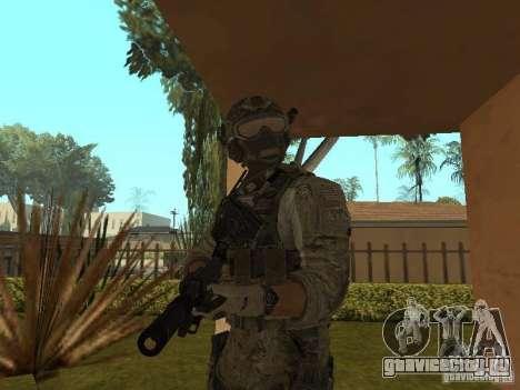 M4A1 c ACOG из CoD MW3 для GTA San Andreas третий скриншот