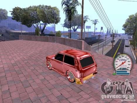 ВАЗ 21213 для GTA San Andreas вид сзади