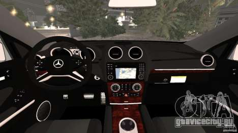 Mercedes-Benz ML63 AMG Brabus для GTA 4 вид сзади