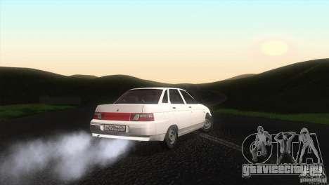 Ваз 2110 Сток для GTA San Andreas вид сзади слева