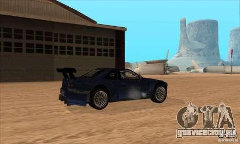 Nissan Skyline R34 GT-R LM для GTA San Andreas вид сбоку