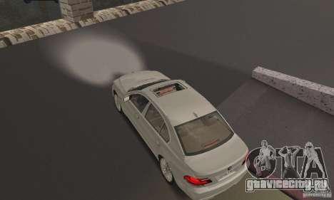 Ярко белый цвет фар для GTA San Andreas второй скриншот