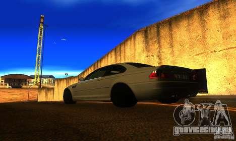 BMW M3 E46 TUNEABLE для GTA San Andreas вид слева