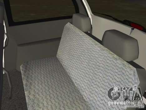 Dodge Grand Caravan для GTA Vice City вид изнутри
