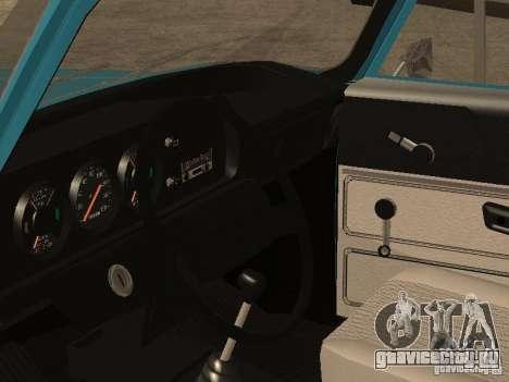 АЗЛК 2140 v2 для GTA San Andreas вид сзади