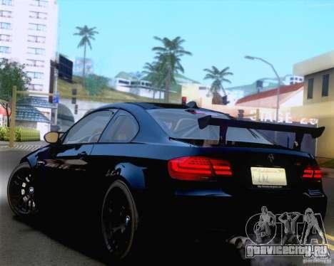 BMW M3 GT-S 2011 для GTA San Andreas вид сбоку