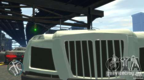 Maybach Exelero для GTA 4 вид изнутри