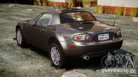 Mazda MX-5 для GTA 4 вид сбоку