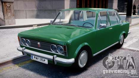 Fiat 125p Polski 1970 для GTA 4 вид слева