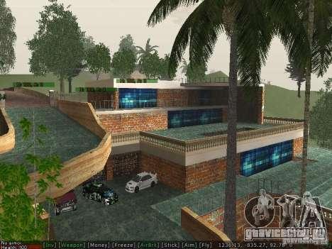 Новая вилла Мед-Догга для GTA San Andreas третий скриншот