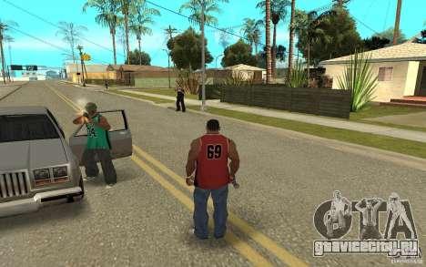 Grove Street Skin Pack для GTA San Andreas девятый скриншот