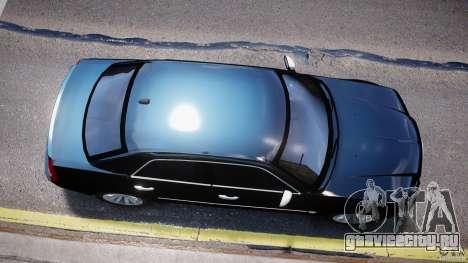 Chrysler 300C SRT8 Tuning для GTA 4 вид изнутри