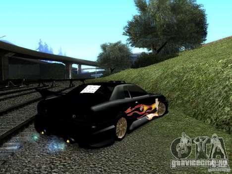Винил Рэйзора из Most Wanted для GTA San Andreas вид слева