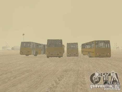 Прицеп к Икарусу 280.33 для GTA San Andreas вид справа