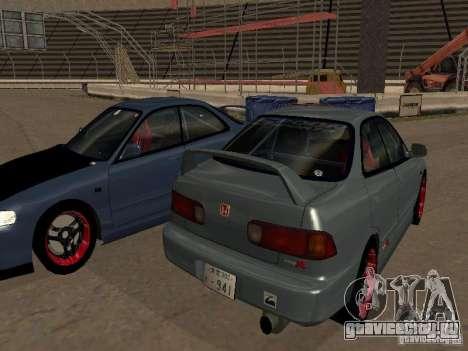 Honda Integra TypeR для GTA San Andreas вид слева