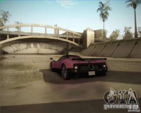 Pagani Zonda F V1.0 для GTA San Andreas вид снизу