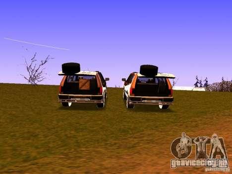 Mountainstalker S для GTA San Andreas вид сбоку