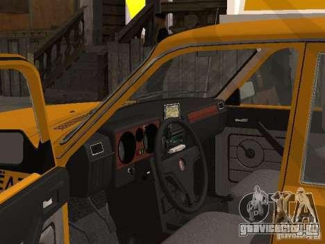 ГАЗ Волга 31029 Такси для GTA San Andreas вид сзади слева