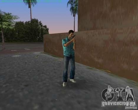 USP-45 в пустынной окраске для GTA Vice City