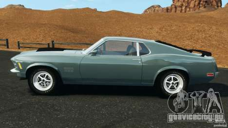 Ford Mustang Boss 429 для GTA 4 вид слева