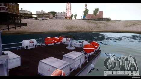 Russian PT Boat для GTA 4 вид сзади