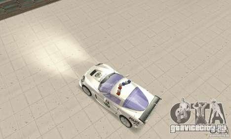 Chevrolet Corvette C6 Police Сержант Кросс NFSMW для GTA San Andreas вид справа