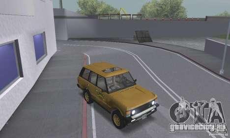 Range Rover County Classic 1990 для GTA San Andreas вид сбоку