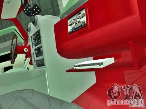 Hummer H2 Phantom для GTA San Andreas вид сбоку