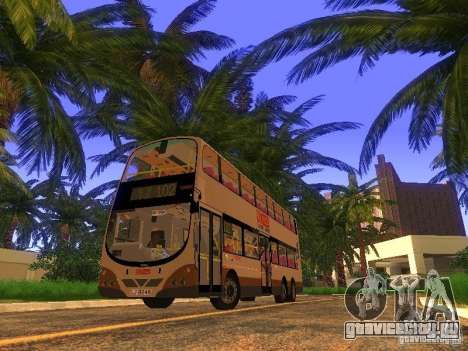 Volvo B10TL from Hong Kong для GTA San Andreas вид слева