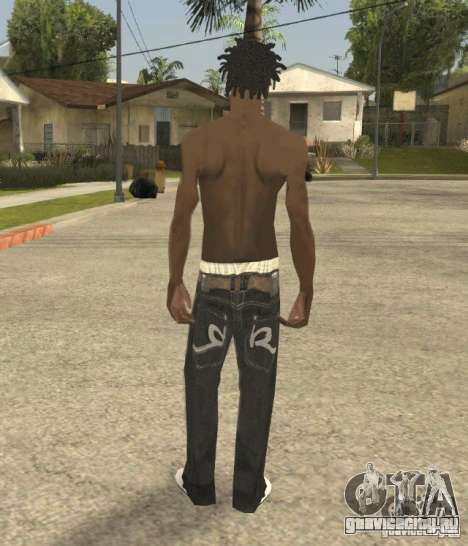 Afro-American Boy для GTA San Andreas третий скриншот
