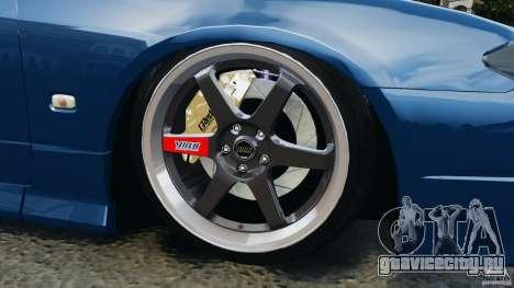 Nissan Silvia S15 JDM для GTA 4 вид снизу