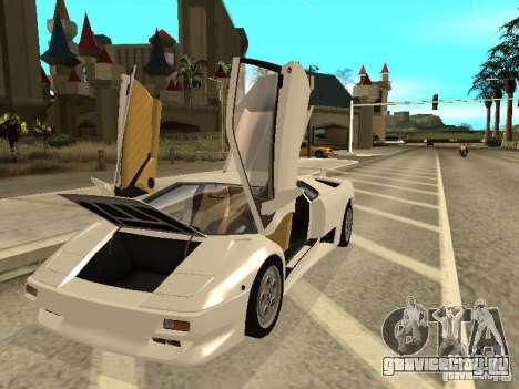 Lamborghini Diablo VT 1995 V2.0 для GTA San Andreas вид сбоку