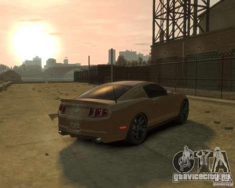 2011 Shelby GT500 Super Snake для GTA 4 вид сзади слева