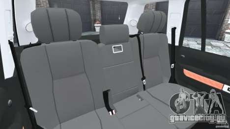 Range Rover Supercharged 2008 для GTA 4 вид сбоку