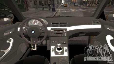 BMW M3 E46 Tuning 2001 v2.0 для GTA 4 вид справа