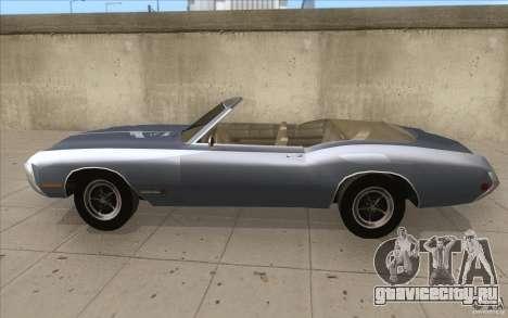 Buick Riviera GS 1969 для GTA San Andreas вид слева