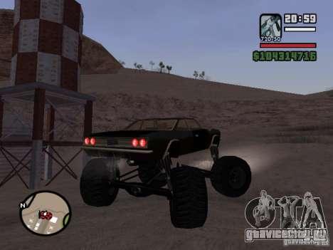 Monster Tampa для GTA San Andreas вид слева
