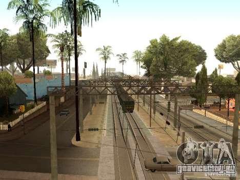 Контактная сеть 2 для GTA San Andreas шестой скриншот