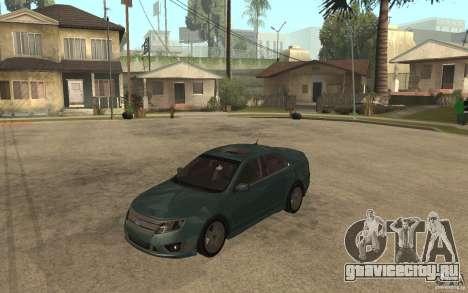 Ford Fusion 2010 для GTA San Andreas