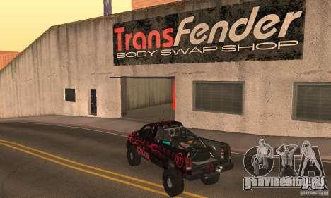 Dodge Power Wagon Paintjobs Pack 1 для GTA San Andreas вид слева