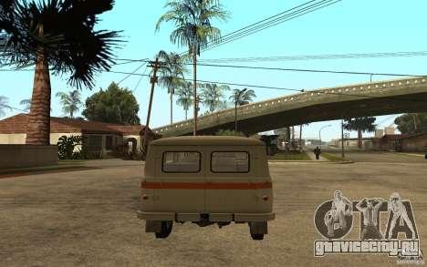 УАЗ 450В для GTA San Andreas вид сзади слева