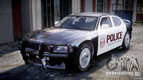 Dodge Charger SRT8 Police Cruiser для GTA 4 вид слева