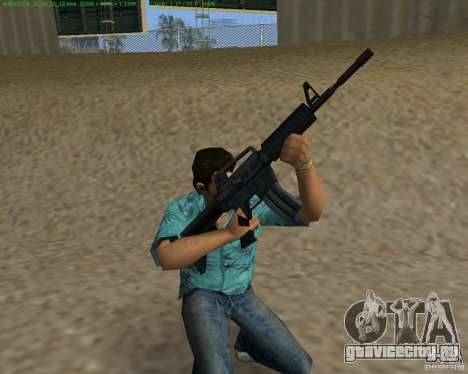 М4 из Counter Strike Source для GTA Vice City третий скриншот