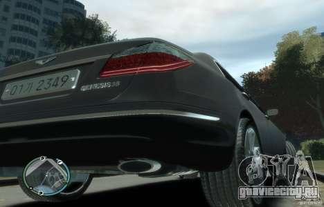Hyundai Genesis Sedan Elite для GTA 4 вид справа