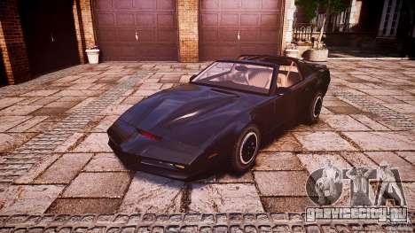 KITT Knight Rider для GTA 4