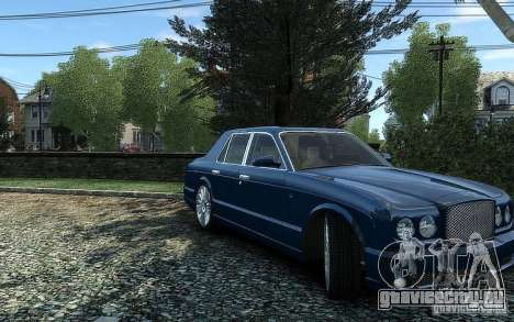 Bentley Arnage T для GTA 4 вид справа